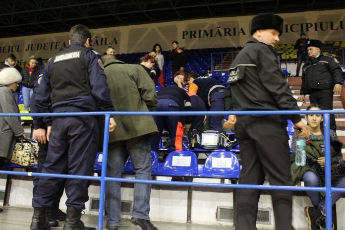 Final de infarct la meciul de handbal dintr Brăila și Buzău