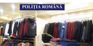 Articole de încălțăminte și îmbrăcăminte contrafăcute confiscate de la 3 comercianți din Brăila