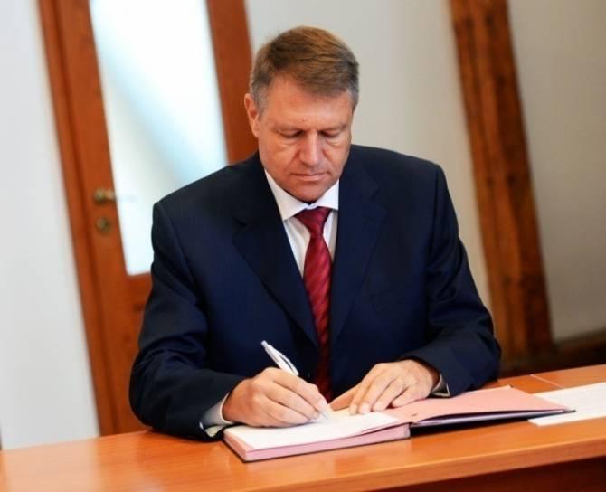 Decret semnat de Klaus Iohannis privind un judecător brăilean