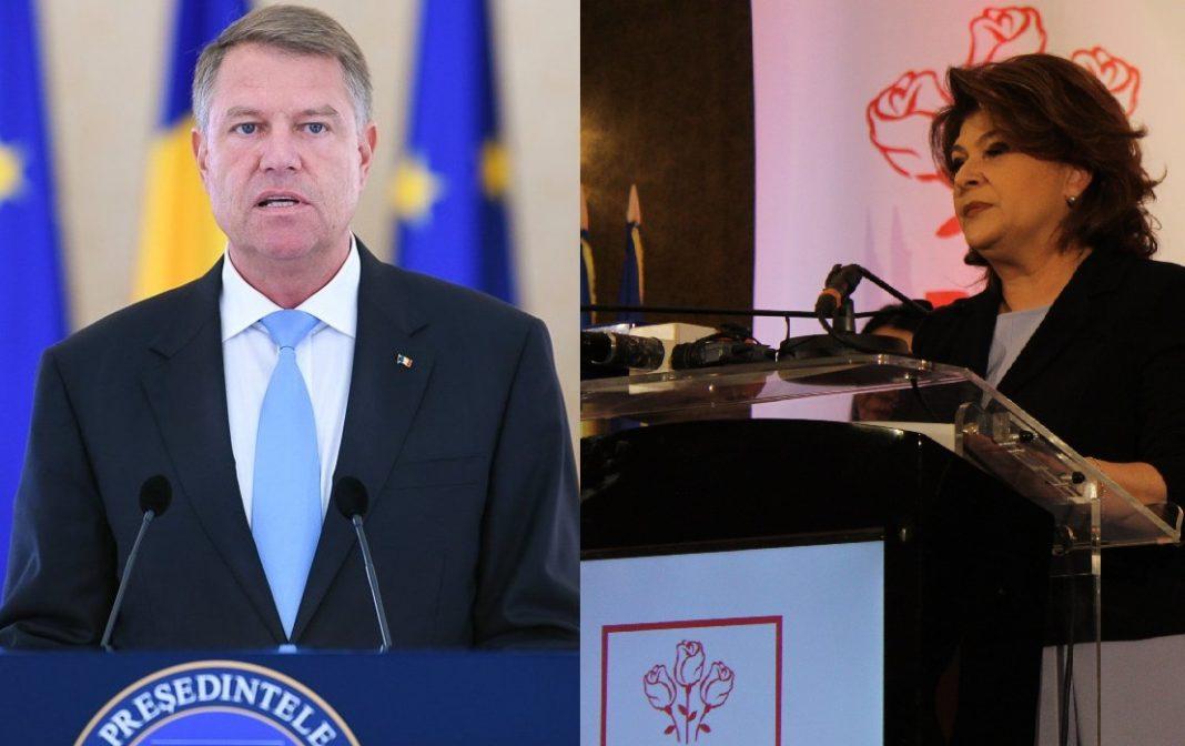 Iohannis ar vrea, PSD spune NU