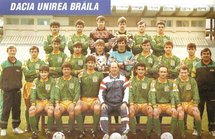 Foști jucători la Dacia Unirea Brăila invitați la un meci demonstrativ cu ocazia împlinirii a 100 de ani de existență a clubului