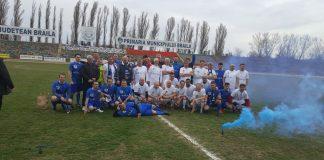 Dacia Unirea Brăila a aniversat un veac la curtea sportului rege