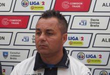 Decizie luată astăzi de Dacia Unirea în privința antrenorului Florentin Petre