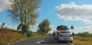 Fier vechi fără documente, confiscat de polițiști în comuna Romanu