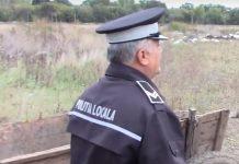 Amenzi aplicate de Poliția Locală pentru aruncarea gunoiului pe domeniul public