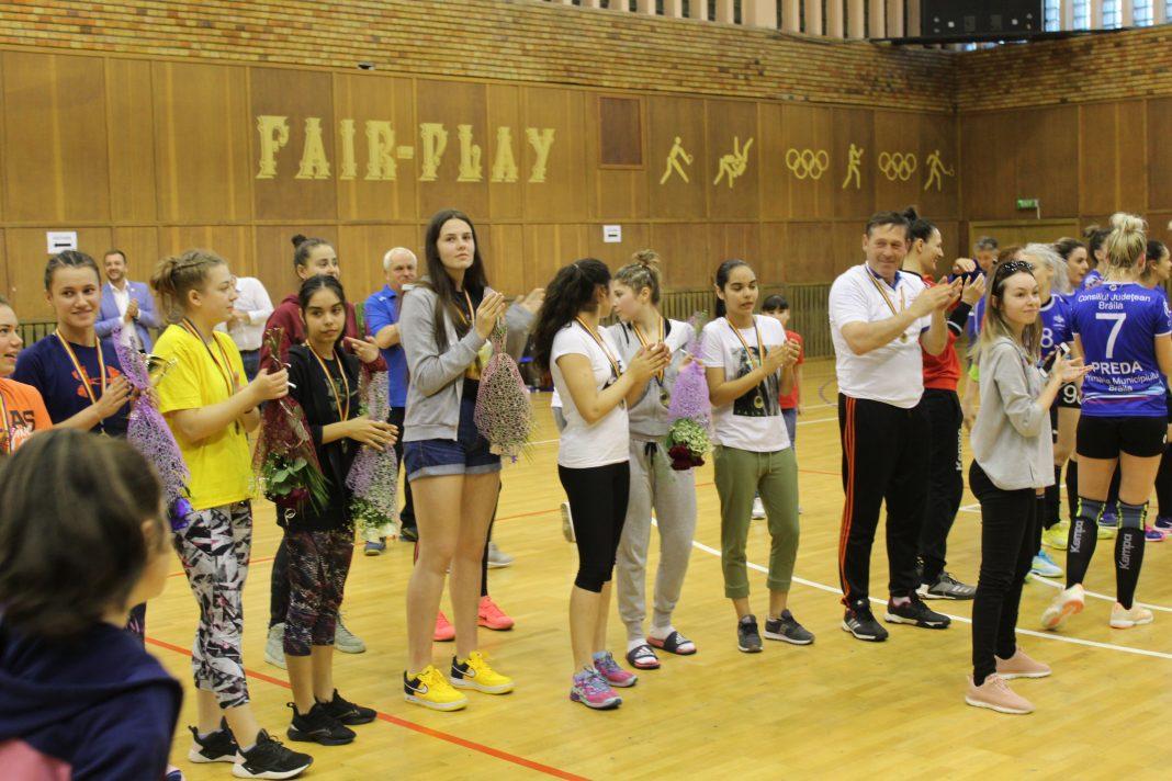 LPS Brăila campioană naționala la ONSS handbal fete liceu