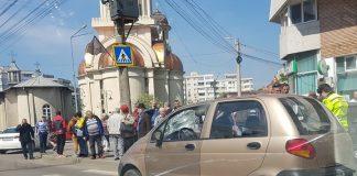 Pieton accidentat pe trecerea de pietoni de un șofer în vârstă de 75 de ani
