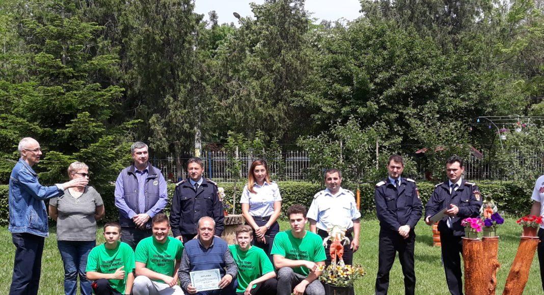 Concurs școlar cu tematică de protecție civilă