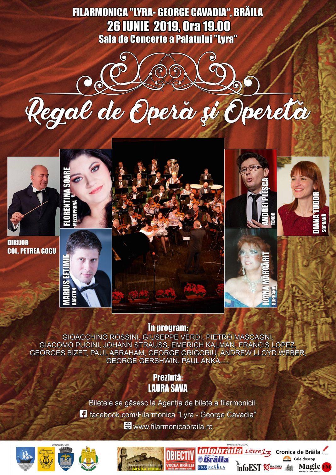 Regal de operă și operetă