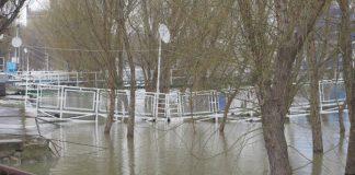 Dunărea a depășit cu 10 cm cota de inundației la Brăila