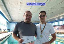 Polițiștii brăileni fruntași la campionatul de natație al MAI