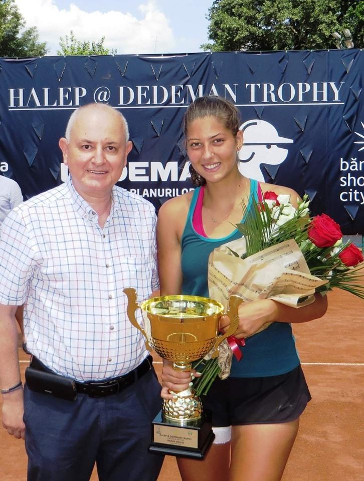 Brăileanca Georgia Crăciun a câștigat finala turneului ITF pe zgură de la Stuttgart-Vahingen, dotat cu premii totale de 25.000 de dolari. Brăileanca a dispus în ultimul act de bielorusa Olga Govortsova, locul 262 WTA, fost număr 35, scor 6–2, 6–3, într-o oră şi 14 minute.