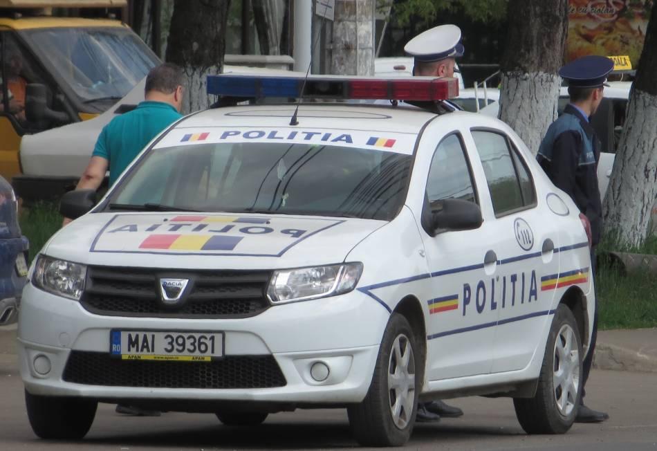 Efective sporite de polițiști în strada pe perioada minivacanței de Sf. Maria