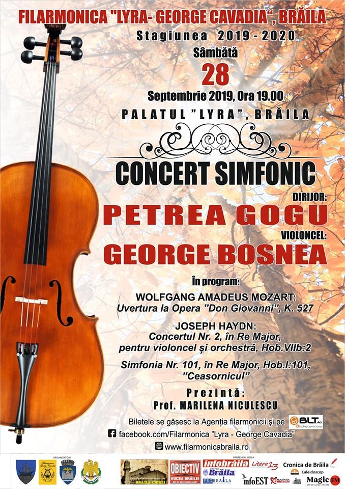 Concert Simfonic - Deschidere Stagiune 2019-2020