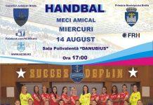 Handbal în Polivalenta brăileană, miercuri de la ora 17