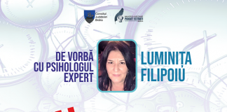 Luminița Filipoiu, psiholog