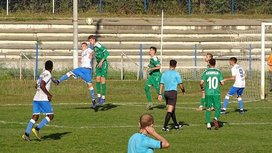 Dacia Unirea a terminat remiză meciul de la Cernavodă