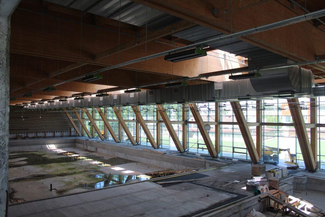 Bazinul Olimpic de la Brăila nu va fi gata nici anul acesta