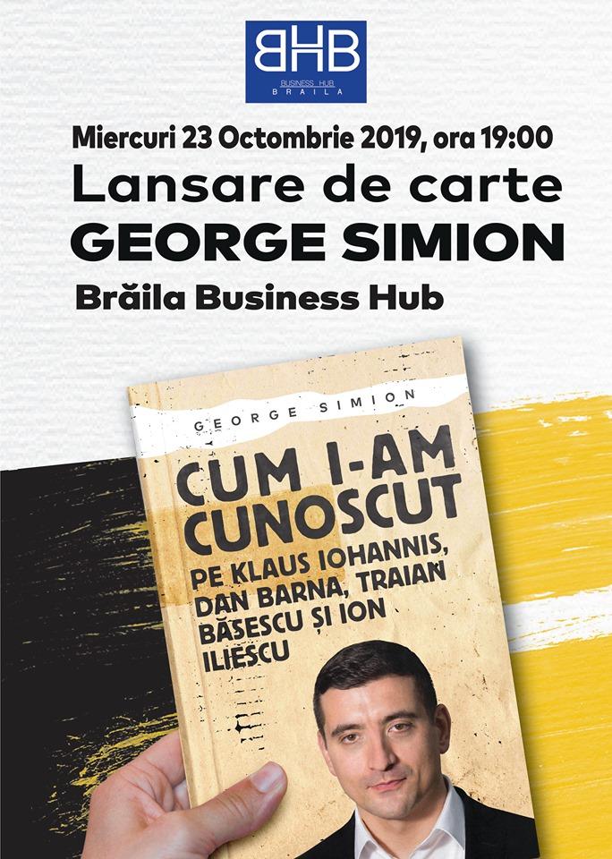 Lansare de carte George Simion